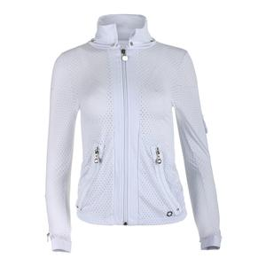 Women`s Cosmo Tennis Jacket White