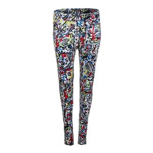 Women`s Graffiti Graphic Tennis Legging Print
