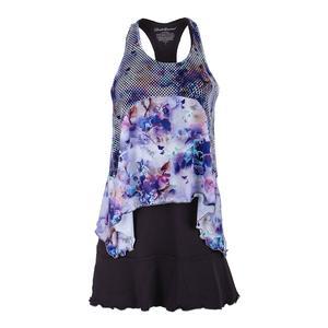 Women`s Tennis Dress Violet and Print