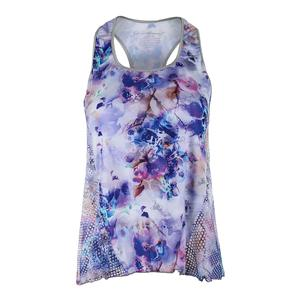 Women`s Layer Tennis Top Print