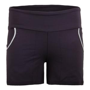 Women`s Compression Tennis Short Violet