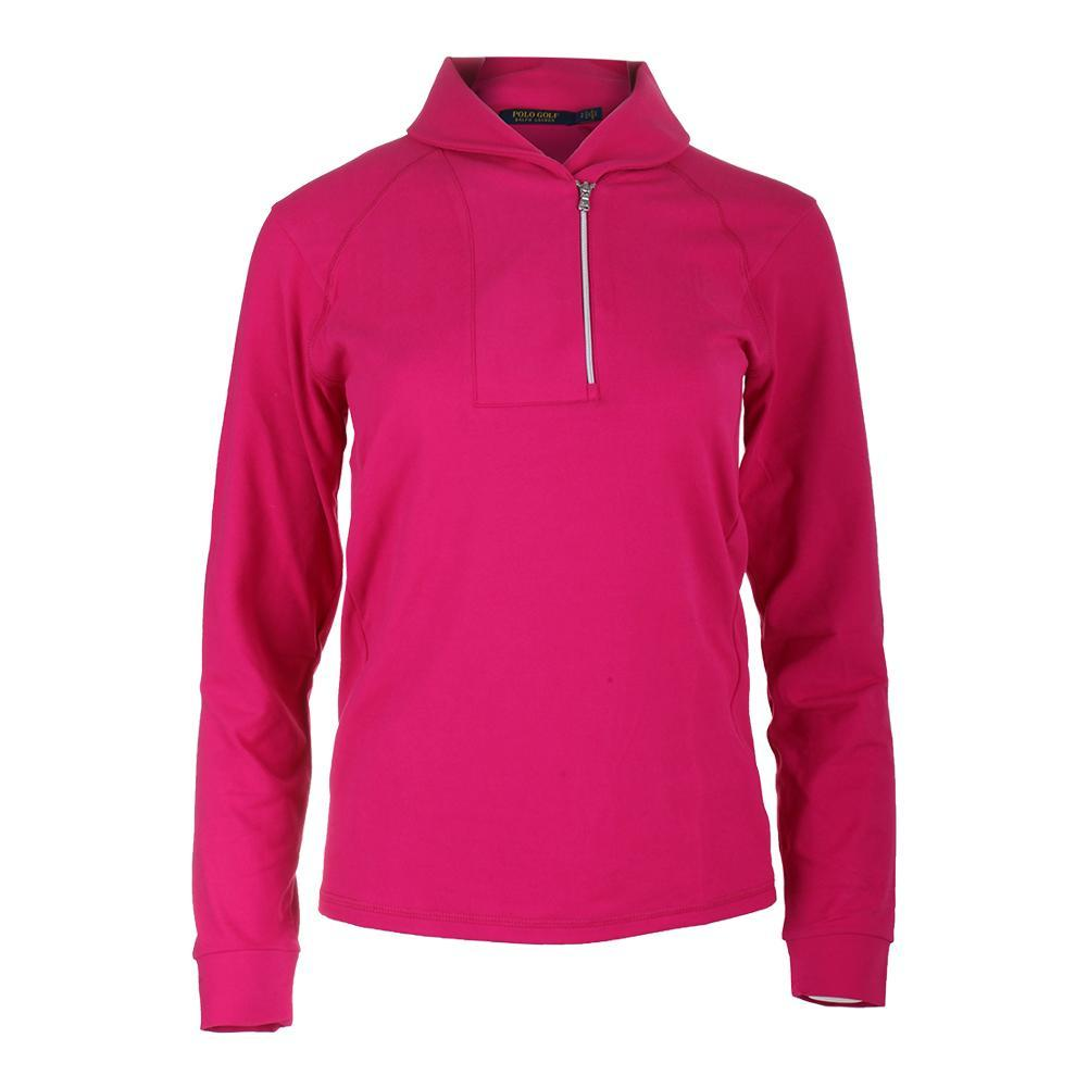 Women's Shawl Collar 1/2 Zip Top