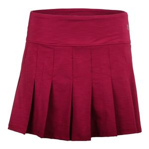 Women`s Fly 14 Inch Tennis Skort Cherry