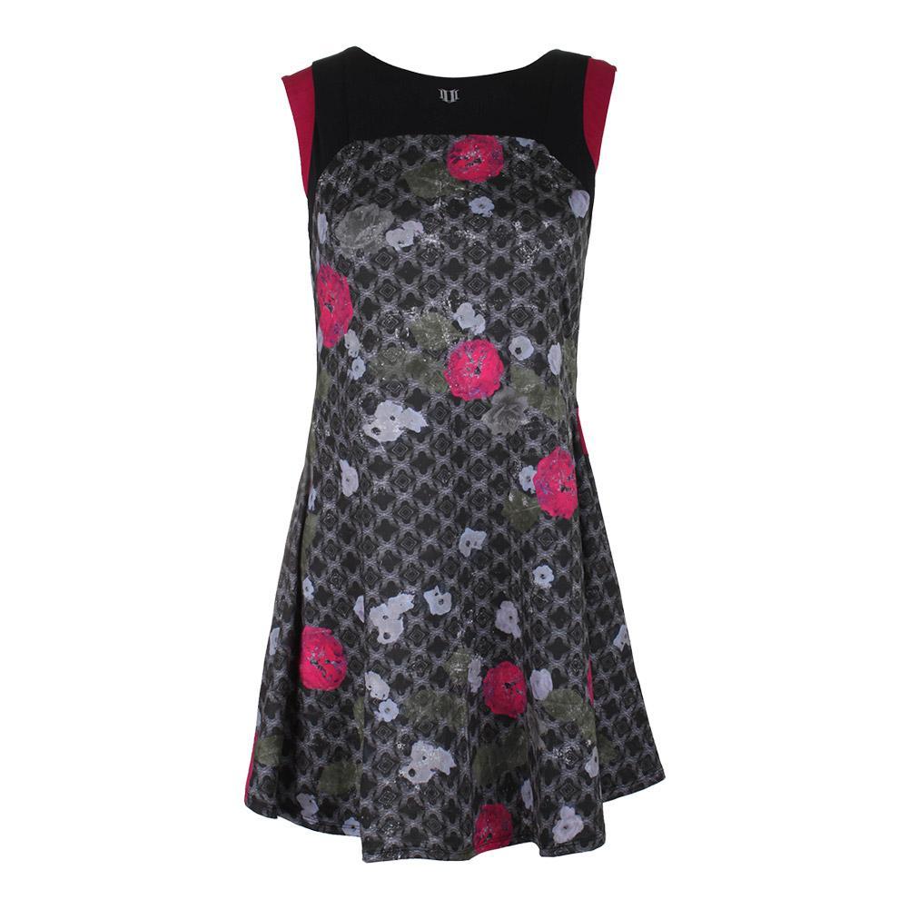 Women's Pelisse Tennis Dress Floral Brocade Print