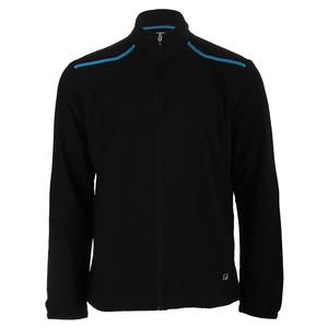 Men`s Break Point Tennis Jacket Black