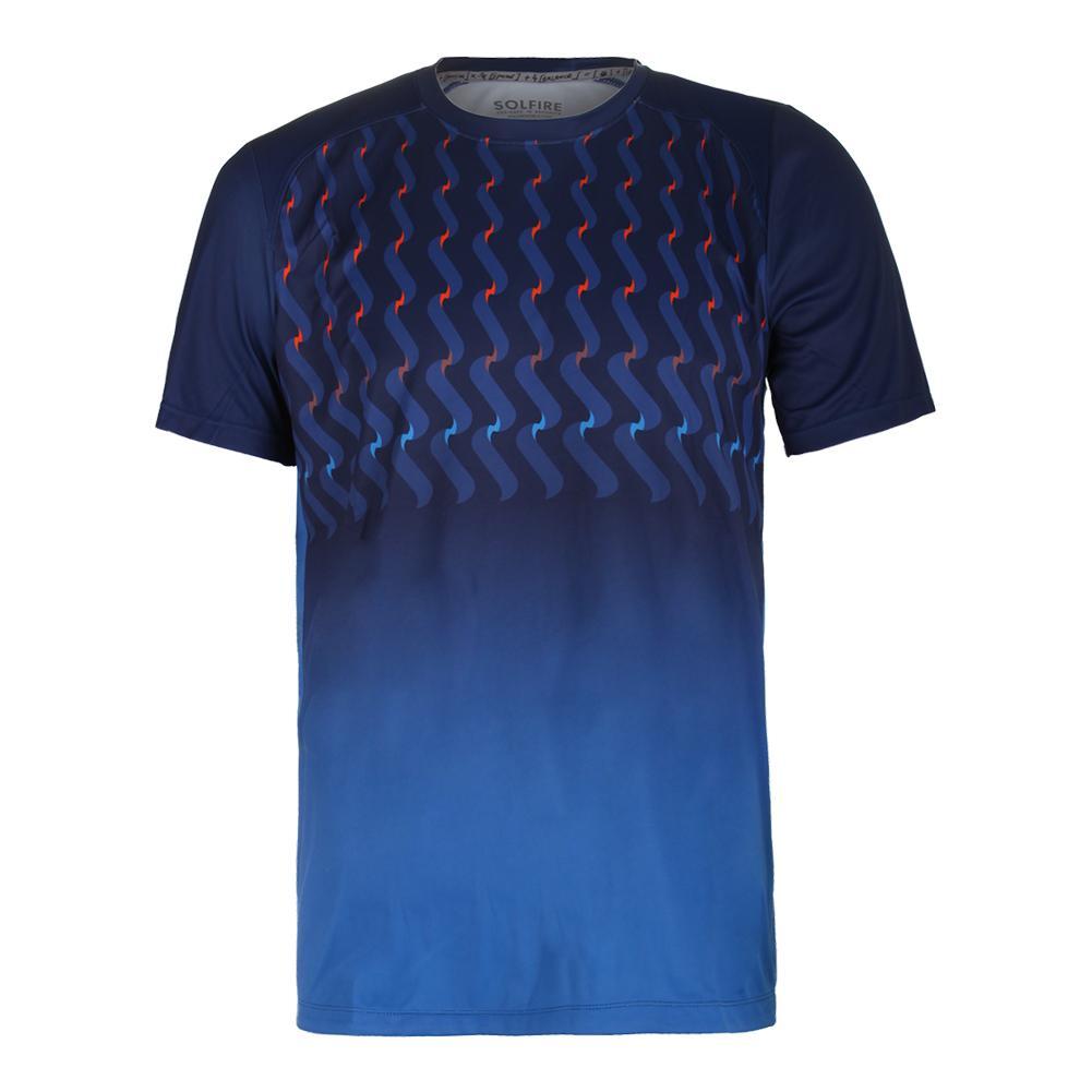 Men's Dimension Tennis Crew Blue Ox
