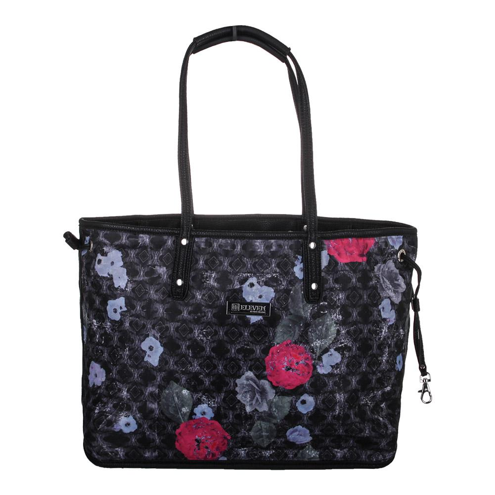 Women's Tailored Tennis Tote Floral Brocade Print