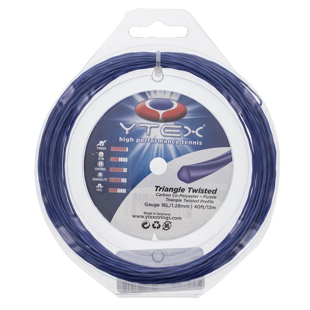 Triangle Twisted 1.28mm/16l Tennis Strings Purple
