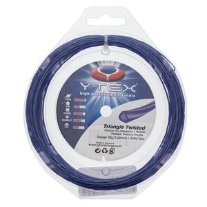 Triangle Twisted 1.28MM/16L Tennis Strings Purple