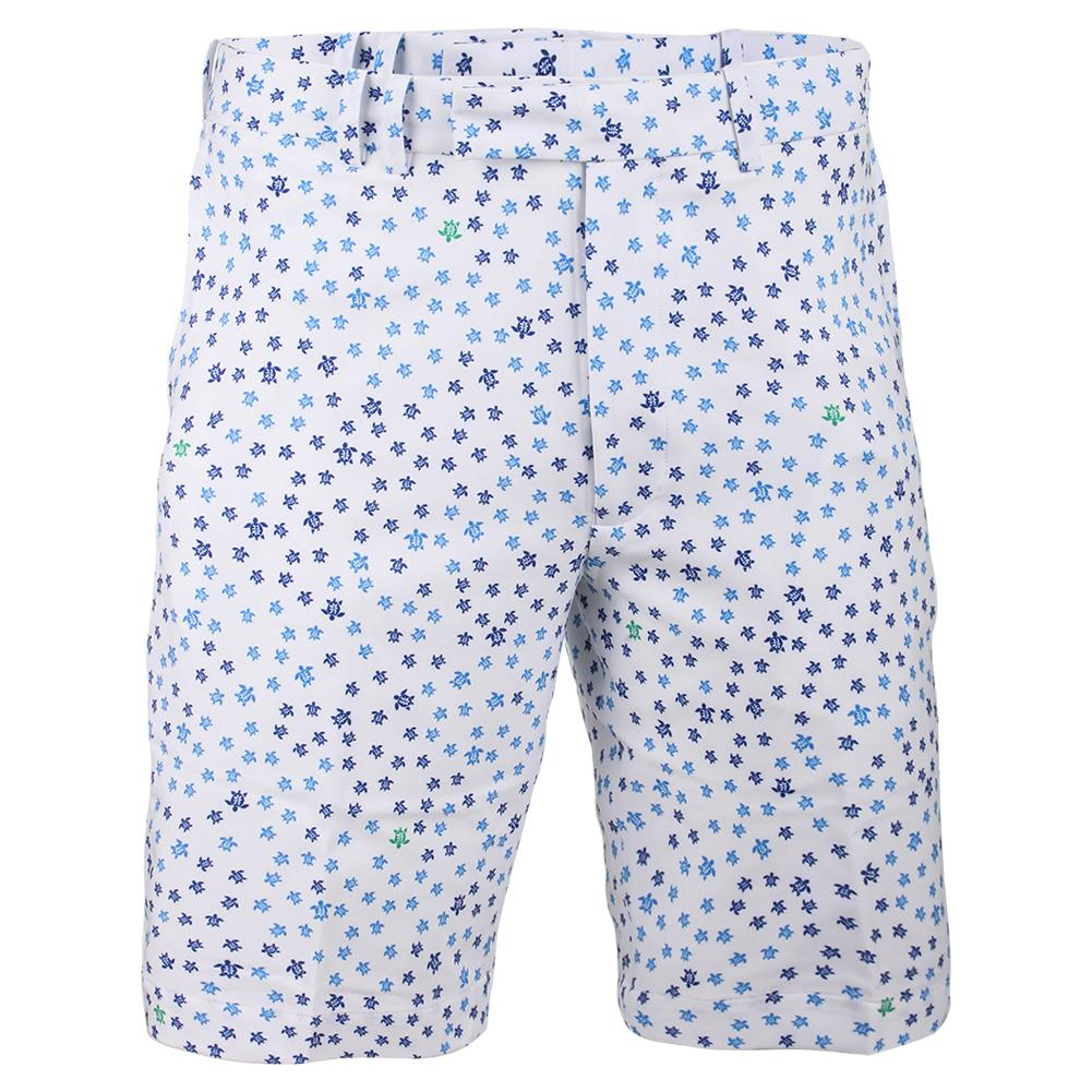 Men's 4 Way Stretch Printed Short Micro Turtle
