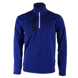 Men`s Brushed Back Jersey Layer Speed Royal