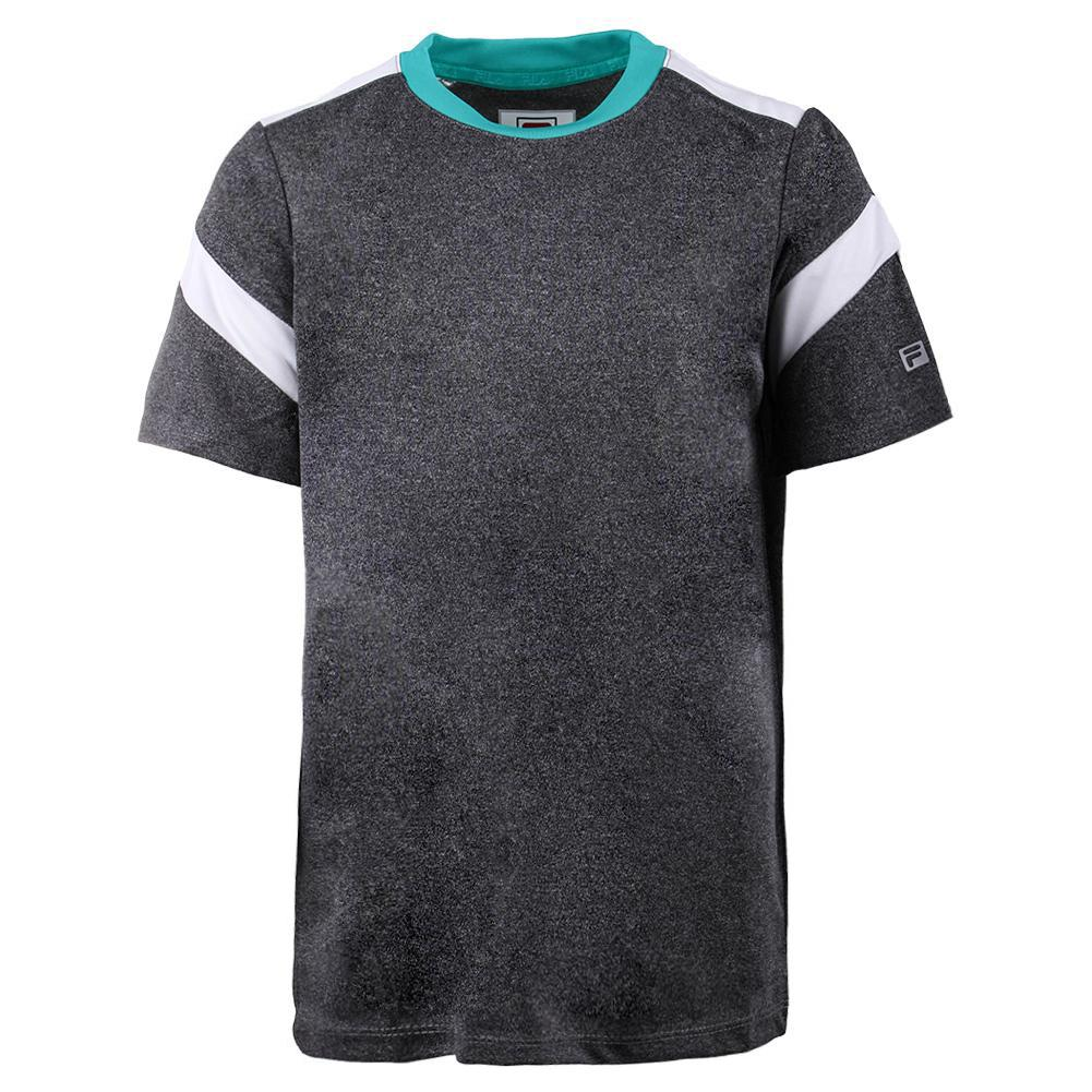 Boys ` Linear Pieced Tennis Crew