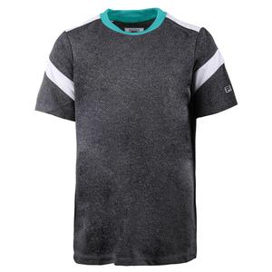 Boys` Linear Pieced Tennis Crew