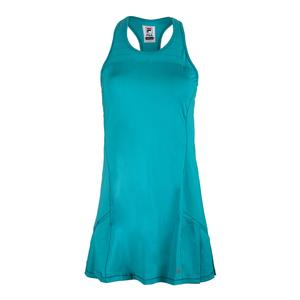 Women`s Court Allure Racerback Tennis Dress Tabitha Teal