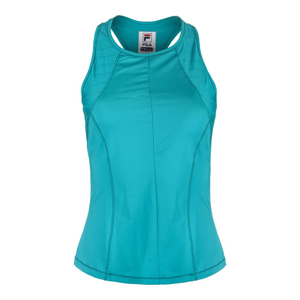Women's Court Allure Racerback Tennis Tank Tabitha Teal
