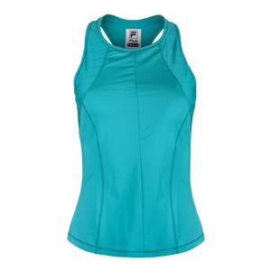 Women`s Court Allure Racerback Tennis Tank Tabitha Teal