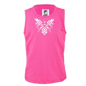 Girls` Moroccan Impression Tennis Tank