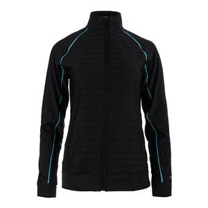 Women`s Court Allure Tennis Jacket Black
