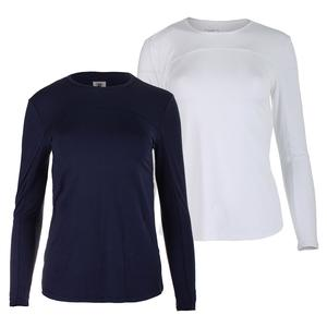 Women`s SPF Long Sleeve Tennis Top