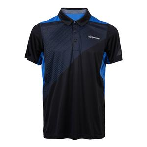 Men`s Performance Tennis Polo Black