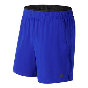 Men`s 7 Inch Perf 2 In 1 Woven Tennis Short Team Royal