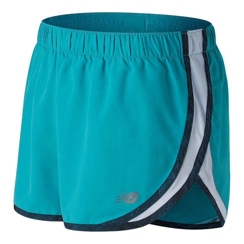 Women's Accelerate 2.5 Inch Tennis Short Pisces