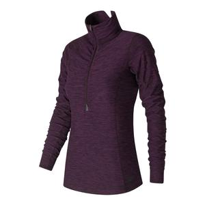 Women`s In Transit Half Zip Tennis Top