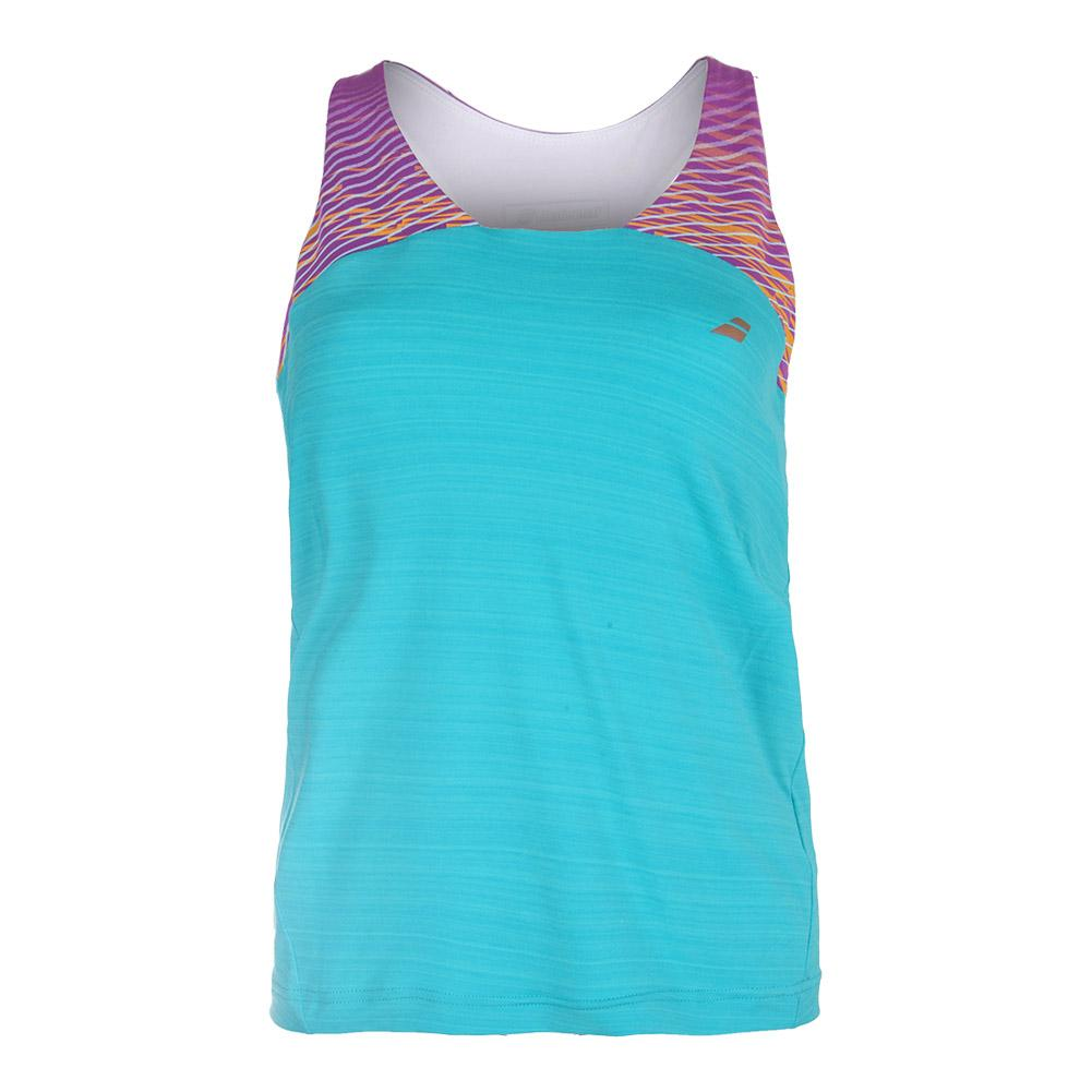 Women's Performance Racerback Tennis Tank Hawaii