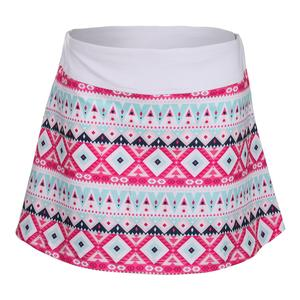 Girls` Tennis Skort Moroccan Print