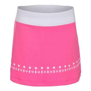 Girls` Moroccan Impressions Tennis Skort Sugar Plum and White