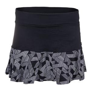 Women`s Promenade Tennis Skirt Optico Print