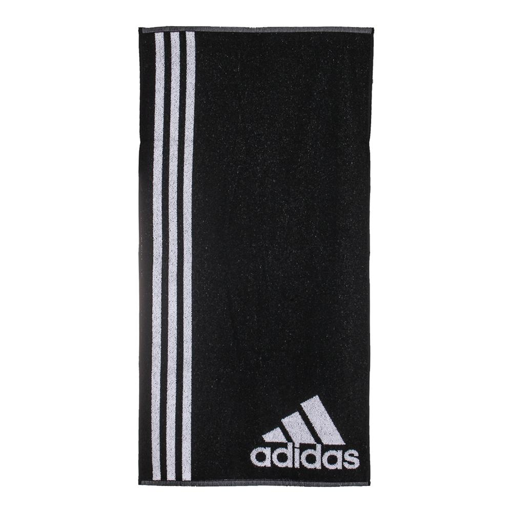 Small Tennis Towel Black And White