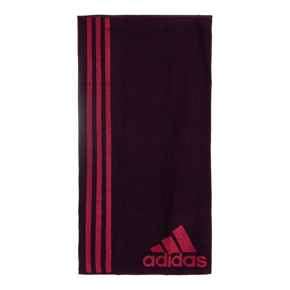 Large Tennis Towel Red Night And Mystery Ruby