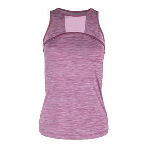 Women`s Triumph Tennis Tank Grape Nectar and Dawn Pink