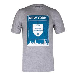 Unisex New York 2016 Champions VCORE Tennis Tee Gray