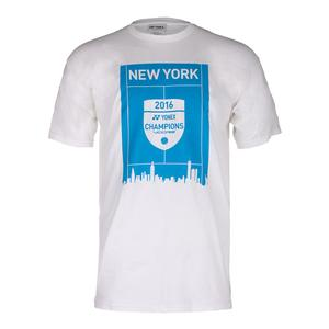 Unisex New York 2016 Champions VCORE Tennis Tee White