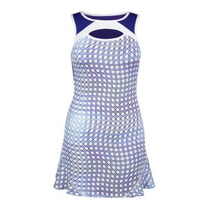Women`s Lavette Tennis Dress Volley Print