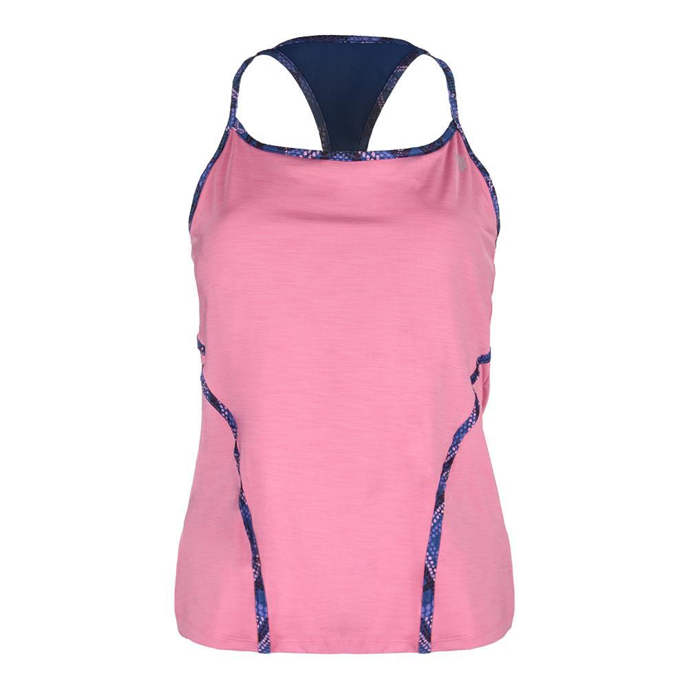 Women's Glide Back Tennis Tank Cashmere