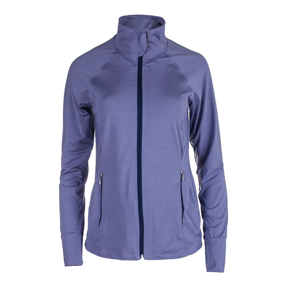 Women's Slow Burn Tennis Jacket Haze