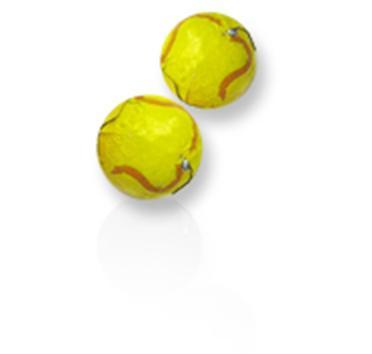 Chocolate Tennis Balls 10 Lb Case