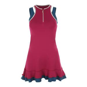 Women`s Tennis Tank Dress Wine
