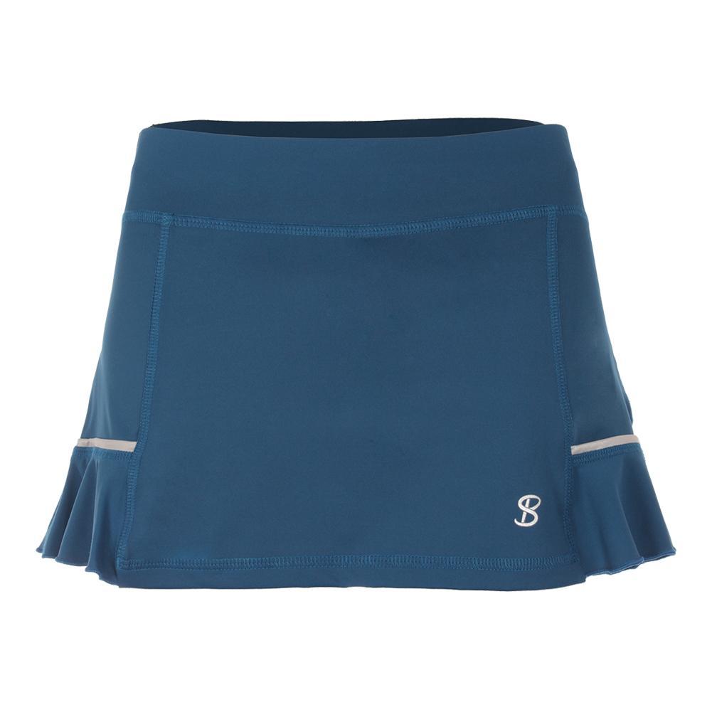 Women's 12 Inch Tennis Skort Tropico Blue