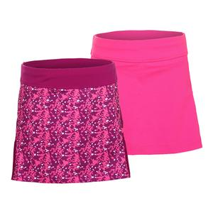 Girls` Abstract Court Tennis Skort