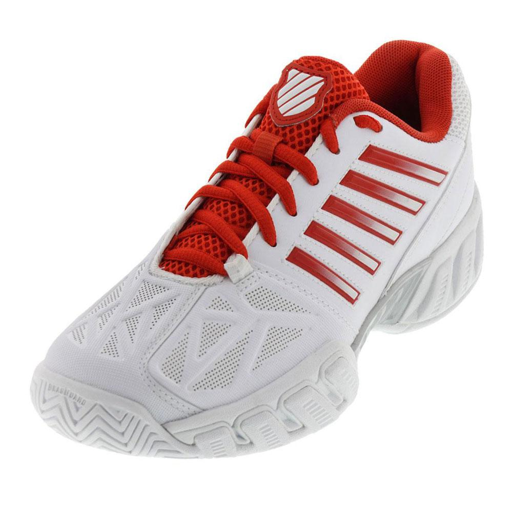 Women's Bigshot Light 3 Tennis Shoes White And Fiesta