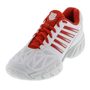 Women`s Bigshot Light 3 Tennis Shoes White and Fiesta