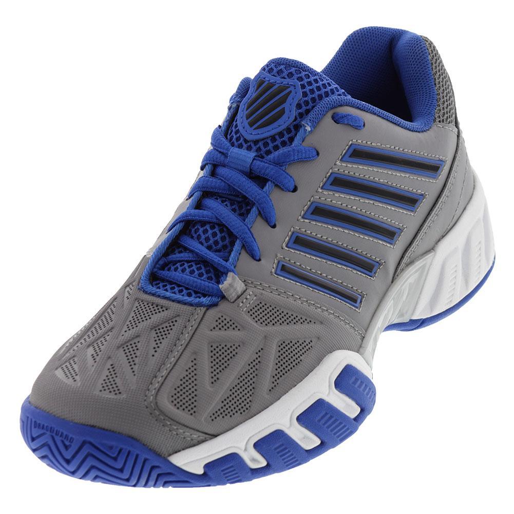 Juniors ` Bigshot Light 3 Tennis Shoes Titanium And Strong Blue