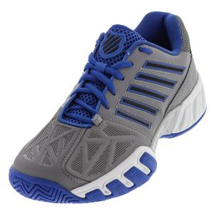 Juniors` Bigshot Light 3 Tennis Shoes Titanium and Strong Blue