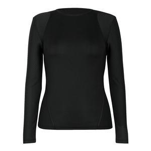 Women`s Orion Long Sleeve Tennis Top Black