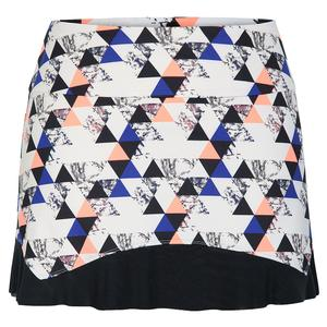 Women`s Zyana 13.5 Inch Graphic Tennis Skort Sandstone