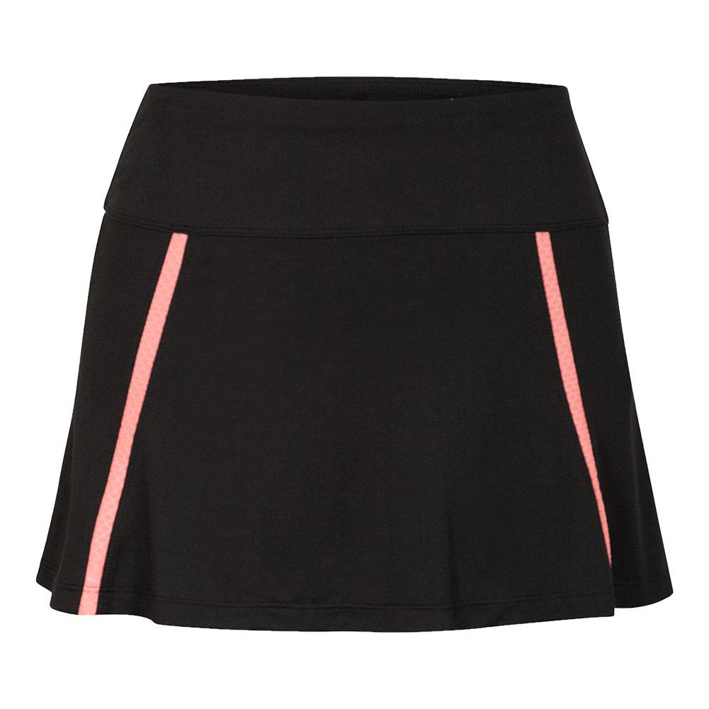 Women's Salem 13.5 Inch Tennis Skort Black